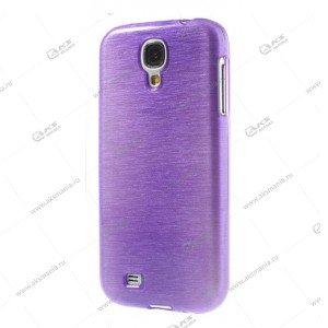 Пластик Samsung S4/i9500 карамель фиолетовый