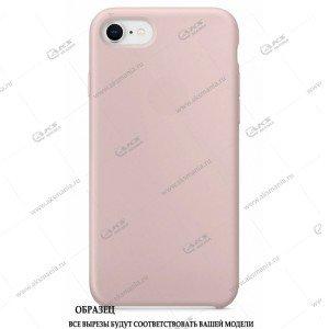 Silicone Case для iPhone 11 бледно-розовый