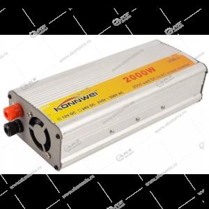 Автомобильный инвертор 12V на 220V 2000W с USB портом