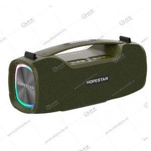 Колонка портативная HOPESTAR A6X зеленый