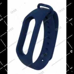 Ремешок на Mi Band 2 темно-синий