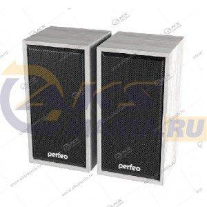 Компьютерные колонки Perfeo Cabinet PF-84 белый дуб