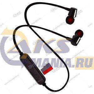 Наушники Bluetooth Perfeo BELLS внутриканальные с микрофоном чёрные