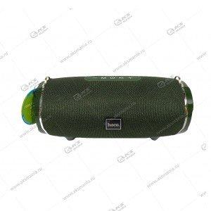 Колонка портативная Hoco HC5 Cool Enjoy sports темно-зеленый