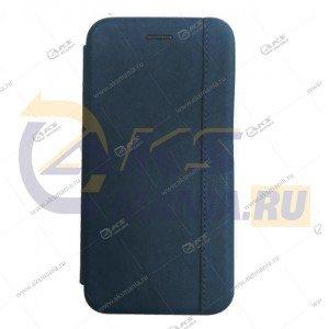 Книга горизонтальная Huawei Honor 20 синий Nice Case