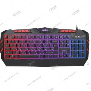 Клавиатура Perfeo LEGION с подсветкой PF-9220-GM черный