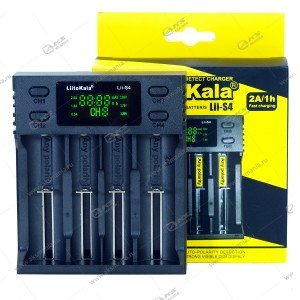 Зарядное устройство LiitoKala Lii-S4 (AA AAA SC 18650/ 26650/ 21700/ 18490/ 17670/ 14500/ IMR 10440)