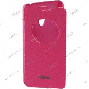 Книга Asus Zenfone 2 Laser 5 Flip Cover розовый