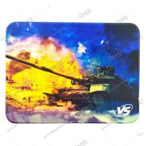 "Коврик для мышки VS ""Tanks"", Рис.2 (240*320*3 мм), ткань+резиновое основание"