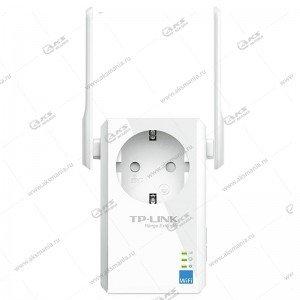Wi-Fi усилитель сигнала (репитер) с розеткой Tp-Link TL-WA860RE