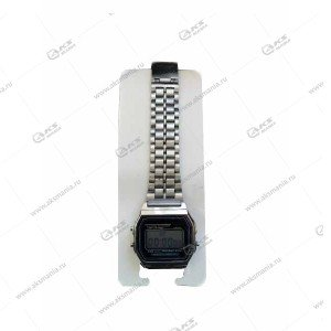 Наручные часы KASIO электронные серебро