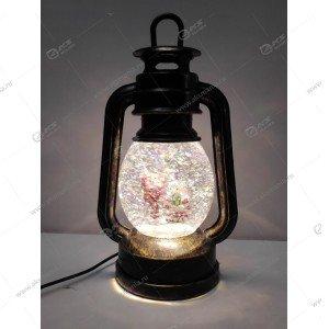 """Декоративная лампа с эффектом снегопада и подсветкой """"Санта"""""""