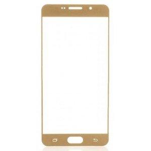 Защитное стекло Samsung A8+ (2018) 3D Gold