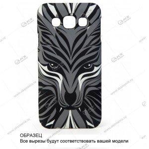 Пластик Samsung S6 Luxo Волк