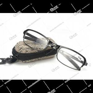 Очки для зрения +2,50 с чехлом 7102