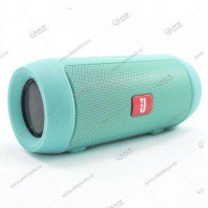Колонка портативная Charge Mini BT TF FM зеленый