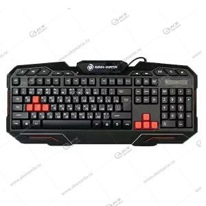 Клавиатура KGK-11U Dialog Gan-Kata - игровая, USB, чёрная