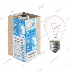 Лампа накаливания Космос Экономик стандарт Гофра (прозрачная) E27 Брест