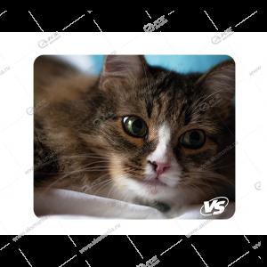 """Коврик для мышки VS """"Cat"""", Рис.4 (180*220*2 мм), ткань+резиновое основание"""