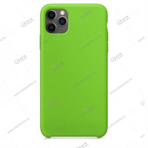 Silicone Case (Soft Touch) для iPhone 11 Pro зеленый