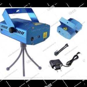 Лазерный проектор JIN-6-7 точки/дуги/звездочки/кружочки