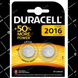Элемент питания Duracell CR2016/2BL