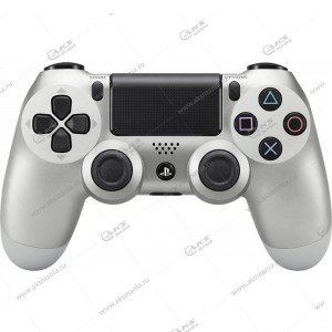 Gamepad PS4 Dualshock 4 wireless серебро