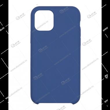 Silicone Case (Soft Touch) для iPhone 11 Pro Max синий