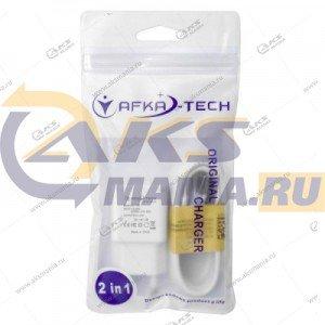 СЗУ AFKA AF-136 блок 2A (2USB выхода) кабель micro USB