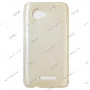 Пластик Samsung S4/i9500 карамель белый