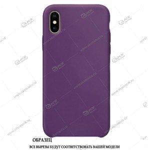 Silicone Case (Soft Touch) для iPhone 7/8 фиолетовый