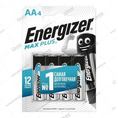 Элемент питания Energizer AA LR6 Max Plus/4BL