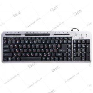 Клавиатура Sven 309M Standard, USB, серебро