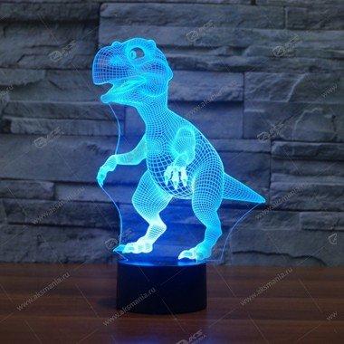 Ночник 3D Динозавр (3 режима)