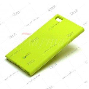 Силикон Cherry HTC Desire 400 желтый