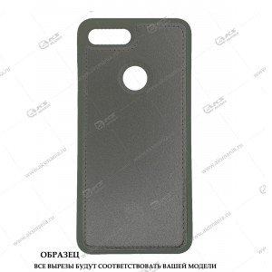 Силикон iPhone 6G/ 6S кожа с логотипом серый