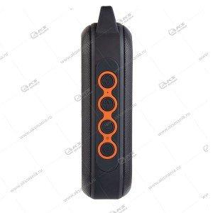 Колонка портативная Perfeo FORCE FM.MP3.SD.USB.AUX.TWS черно-оранжевый