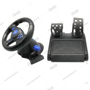 Руль игровой Vibration Steering Wheel 3in1 PS2/PS3/PC