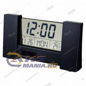 """Часы-будильник Perfeo """"City"""" (PF-S2056) время, температура, дата черный"""