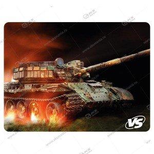 "Коврик для мышки VS ""Tanks"", Рис.1 (240*320*3 мм), ткань+резиновое основание"