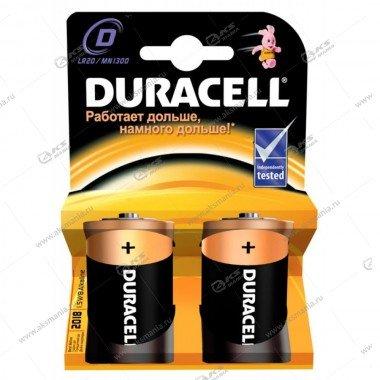 Элемент питания Duracell LR20/2Bl MN1300