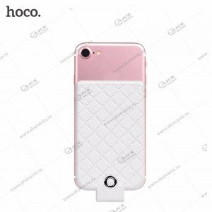 Power Bank HOCO BW4 4000mAh для iPhone с разъемом Lightning white
