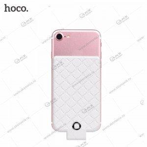 Power Bank HOCO BW4 4000mAh для iPhone с разъемом Lightning white