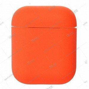 Силиконовый чехол для Airpods 2 Orange