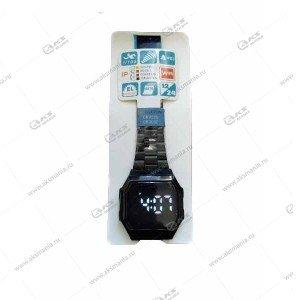 Наручные часы KASIO LED сенсорные черные
