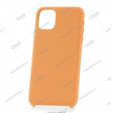 Silicone Case (Soft Touch) для iPhone 11 Pro горчичный
