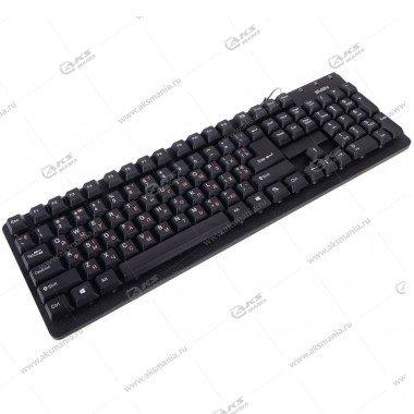 Клавиатура Sven 301 Standard, USB+PS/2, черная