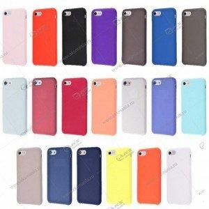 Silicone Case (Soft  Touch) для iPhone 7/8 синий