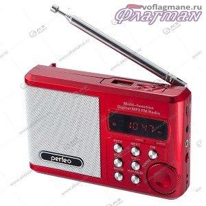 Колонка портативная Perfeo Sound Ranger PF-SV922  FM USB TF красный