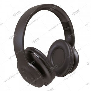 Наушники Bluetooth Perfeo Sole полноразмерные с микрофоном, чёрные